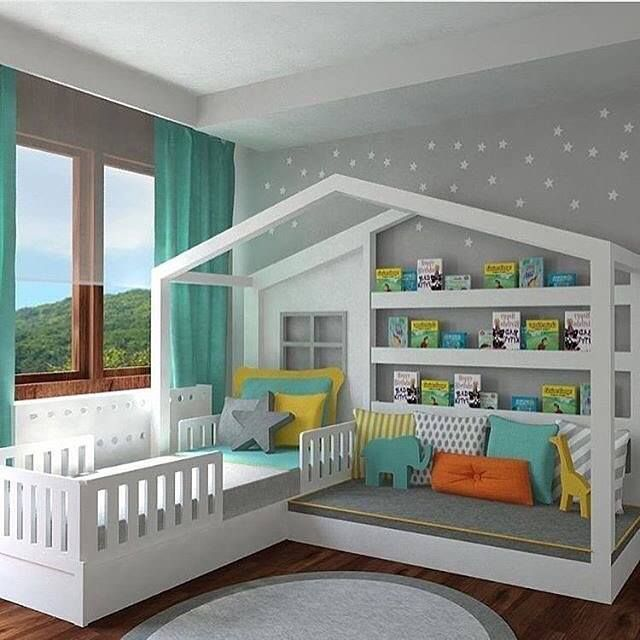 Bed with a Reading Nookthese are the BEST Reading Nook Ideas!