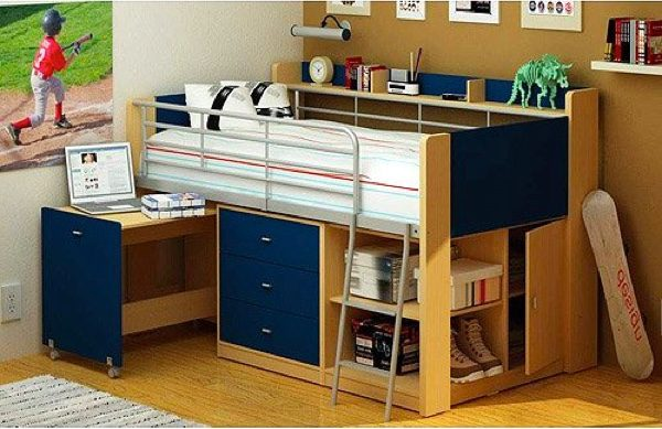 BUY IT · Space-Saving Bed For Kids With Storage
