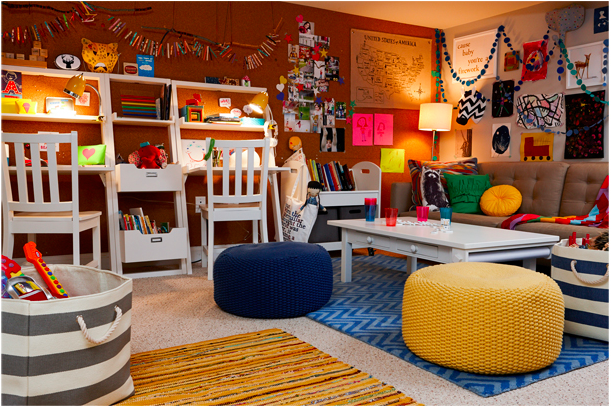 Cool playroom ideas: You can never have too much art on display for  inspiration |