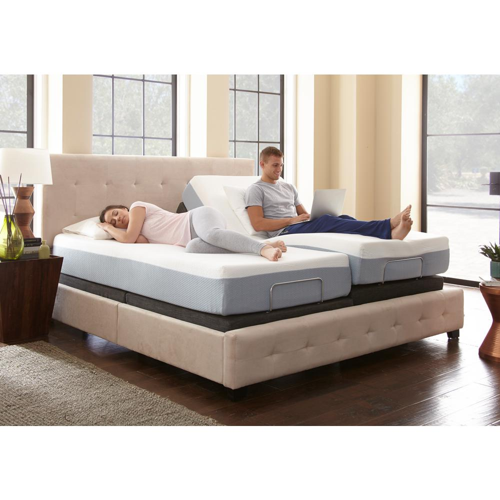 Rest Rite King-Size Rest Rite Adjustable Foundation Base Bed Frame with  Remote Control