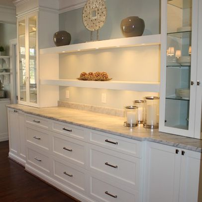 Built-in Buffet Design Ideas, Pictures, Remodel, and Decor - page 7 | For  the Home | Pinterest | Dining room buffet, Built in buffet and Dining room  storage