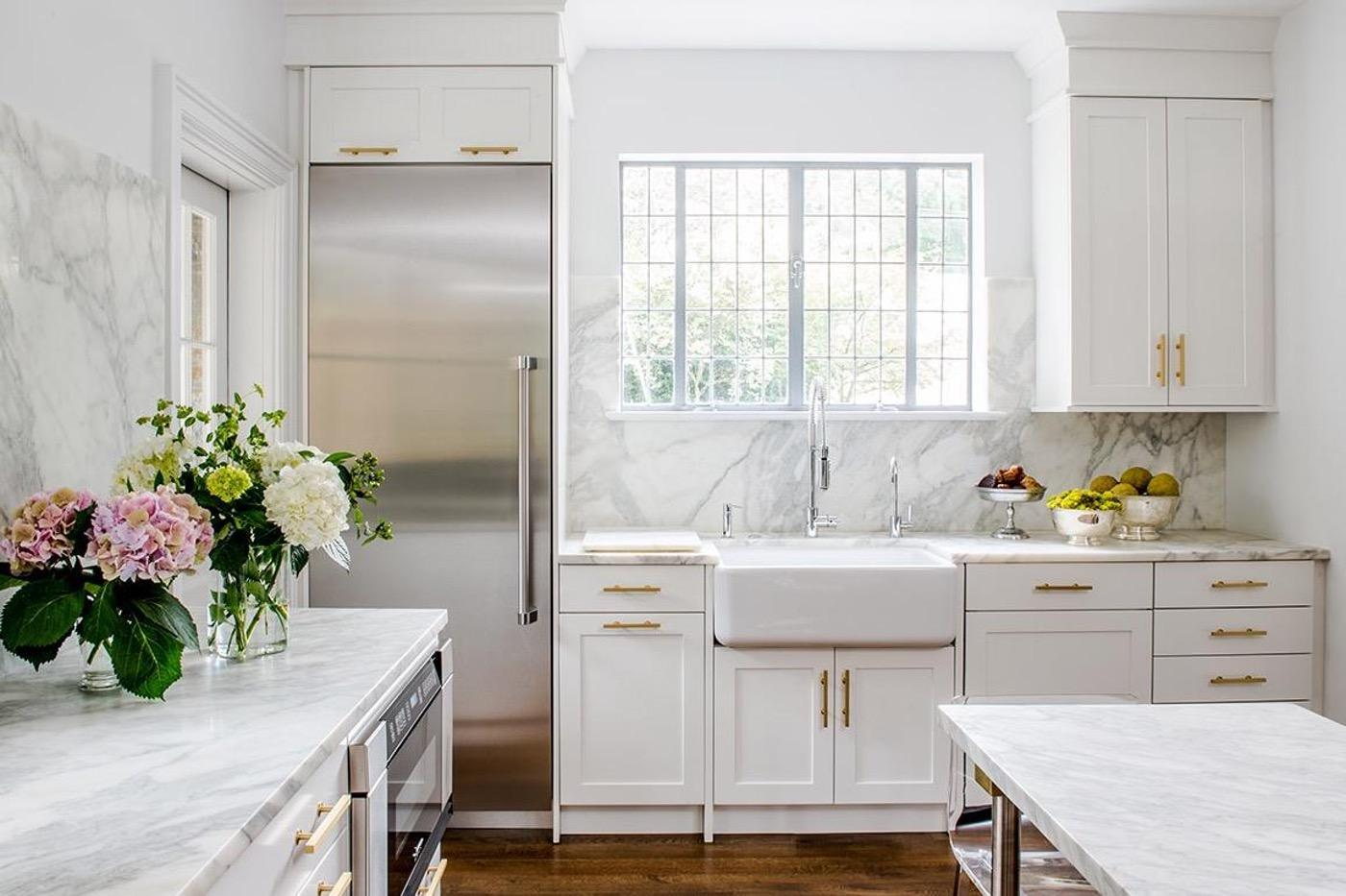 Your Guide to White Kitchen Countertops