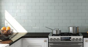 Classic Contrast featuring Glass Subway Tile