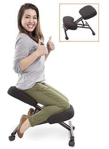 ProErgo Ergonomic Kneeling Chair -Adjustable Height - Office Seating with  an Edge! Perfect for