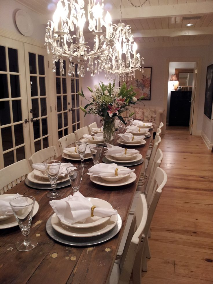 Awesome Wonderful Large Dining Room Table Best 25 Long Tables Ideas In  Decor 7