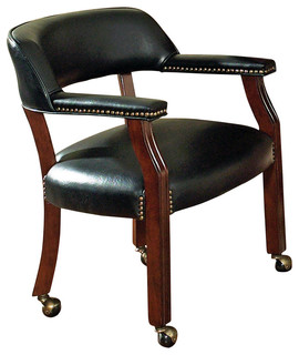 Steve Silver Tournament Game Chair in Brown