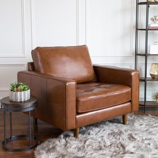 Buy Leather Living Room Chairs Online at Overstock | Our Best Living
