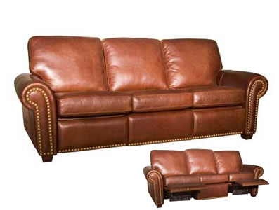 Aurora Leather Recliner Sofa