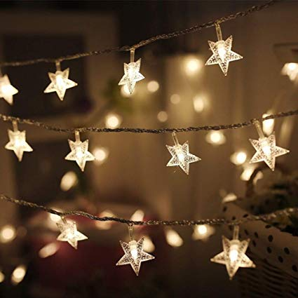 Amazon.com : LED String Lights Star string Lights Christmas String