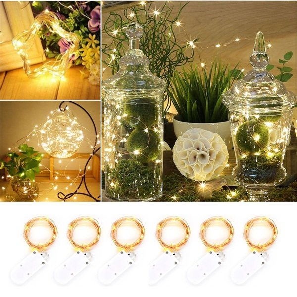 Outdoor Holiday Led Light Decoration 2M Christmas Led String Lights