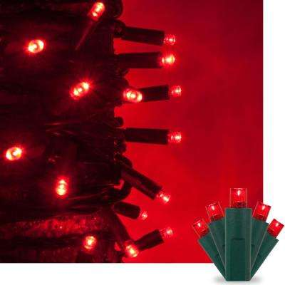 Red - Christmas String Lights - Christmas Lights - The Home Depot