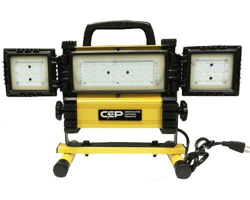 Construction Electrical Products 3000 Lumen Wide Angle LED Work Light