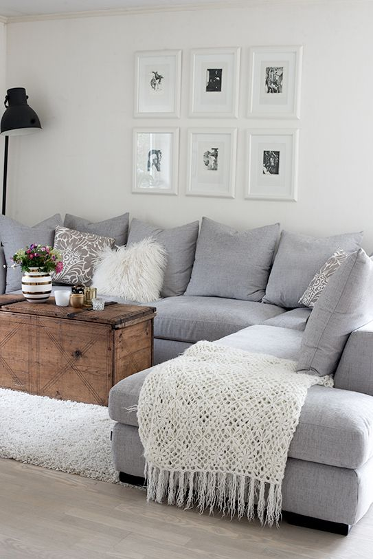 3 Simple Ways to Style Cushions on a Sectional (or Sofa) | New Home