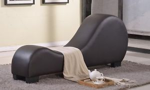 Image is loading Leather-Sex-Couch-Loveseat-Exotic-Furniture-Sofa-Chaise-