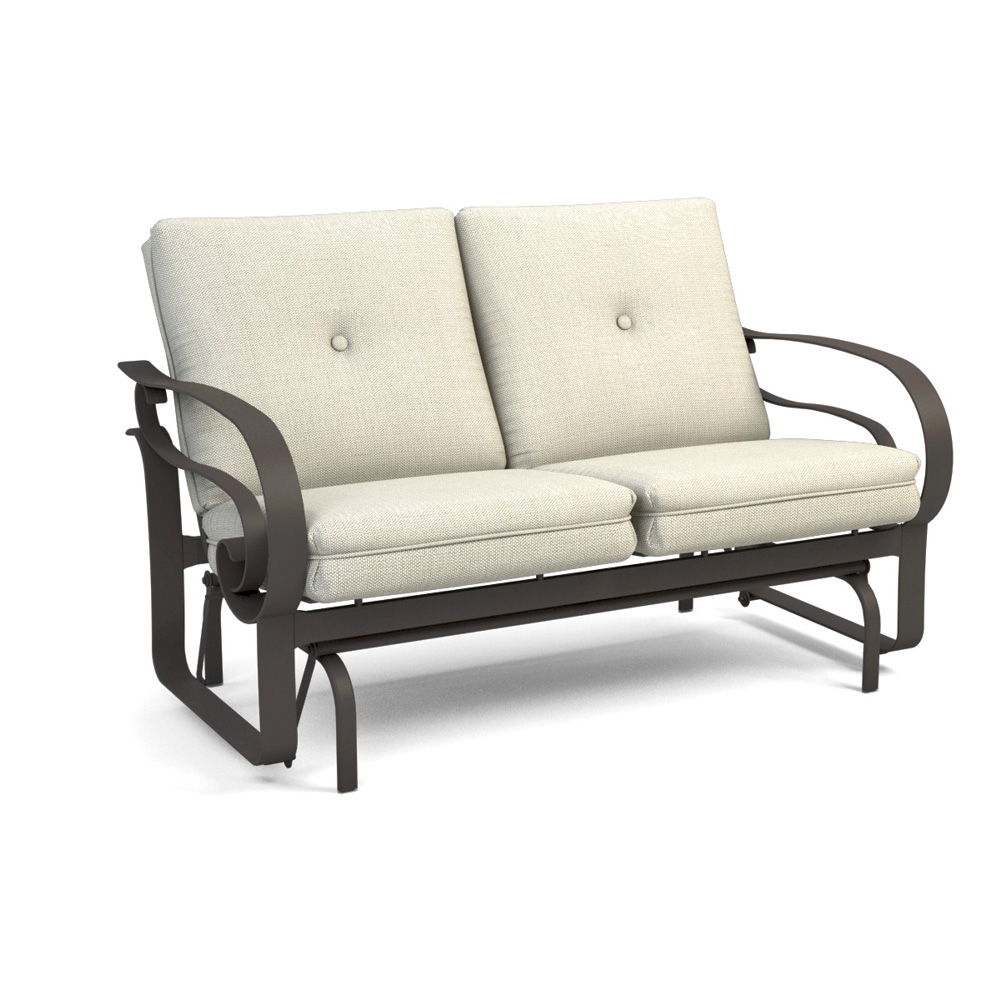 Homecrest Emory Cushion Low Back Loveseat Glider - 2M44A