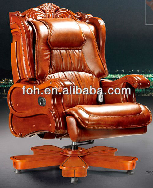 Luxury leather executive office chair, luxury office chair,luxury executive  office furniture(FOHA-02)