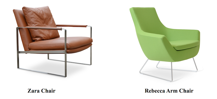 Using Modern Armchairs For Business | Blog | sohoConcept