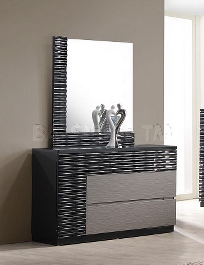 Lacquer Dresser Mirrors With Gorgeous Designs