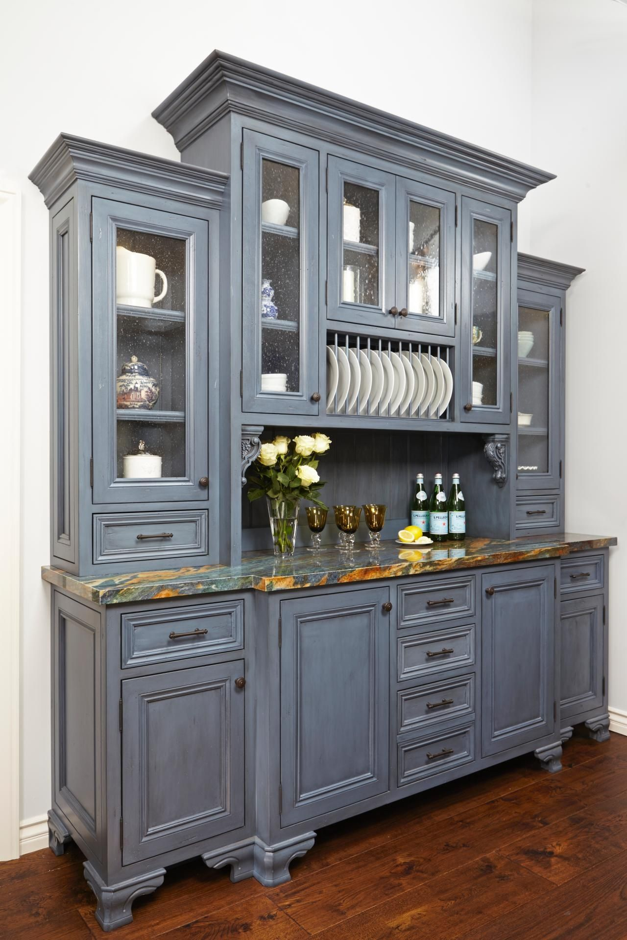 Kitchens French Country Kitchen Hutch Ideas Kitchen hutch Kitchen Buffets.  Kitchen Hutch For Storage. Modern Kitchen Hutch.