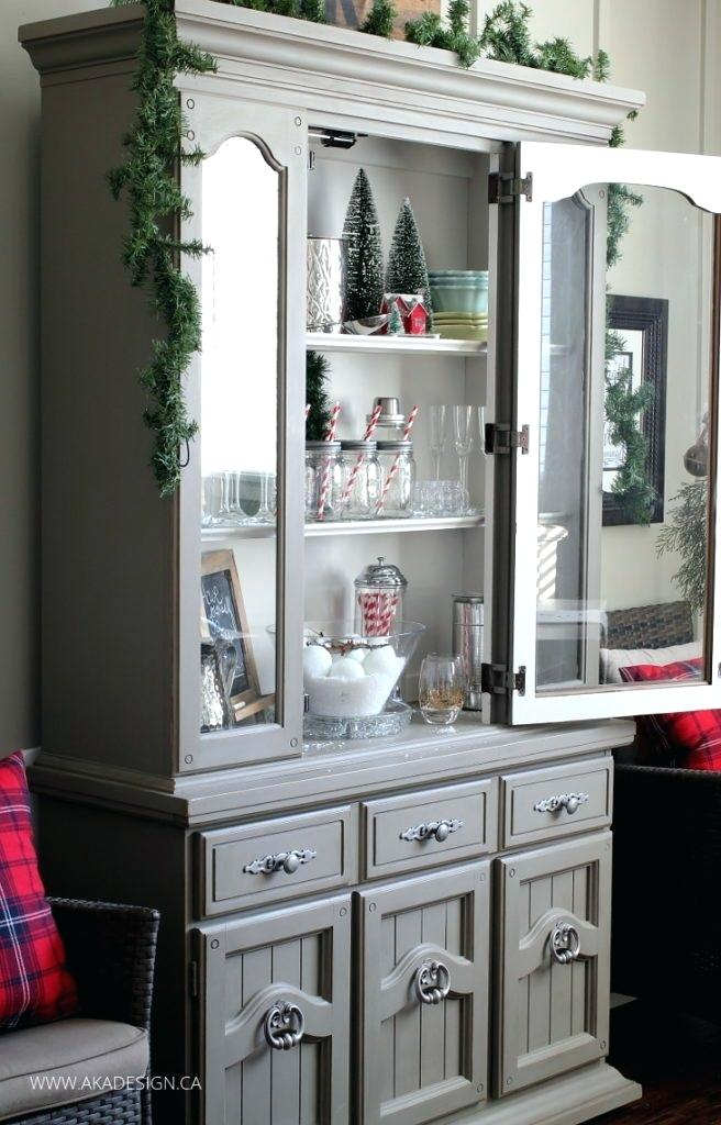 a brick home hutch decor ideas china cabinet modern display