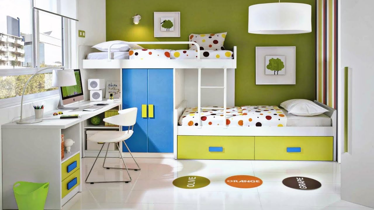 55 MODERN kids room design | Creative Ideas 2018 - Kids Rooms Girl and Boy  Ideas