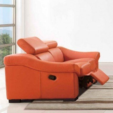 Modern Reclining Loveseat