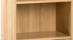 Amazon.com: Comfort Products 50-6522OK Small Modern Bookshelf Oak