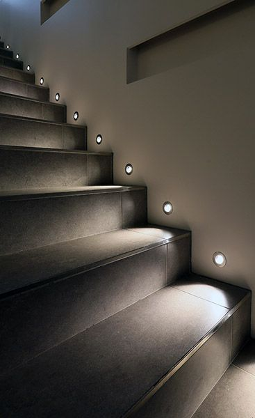 Modern Stair Lights Interior