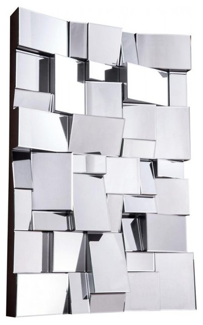 Modern Mirror By Elegant Lighting Contemporary Wall Mirrors