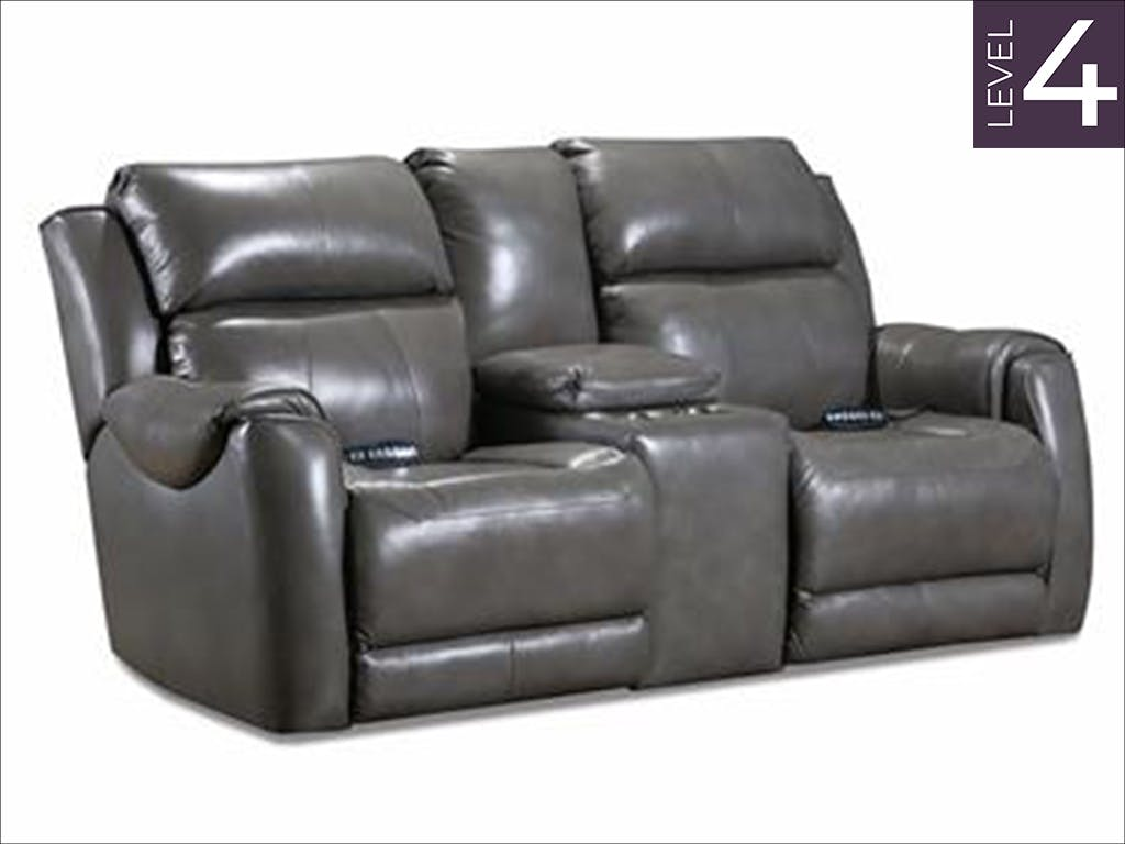 Southern Motion Living Room Safe Bet Double Reclining Loveseat w