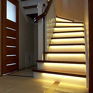 Amazon.com: Wired Smart Stair Lights Motion Sensor Turn On When You