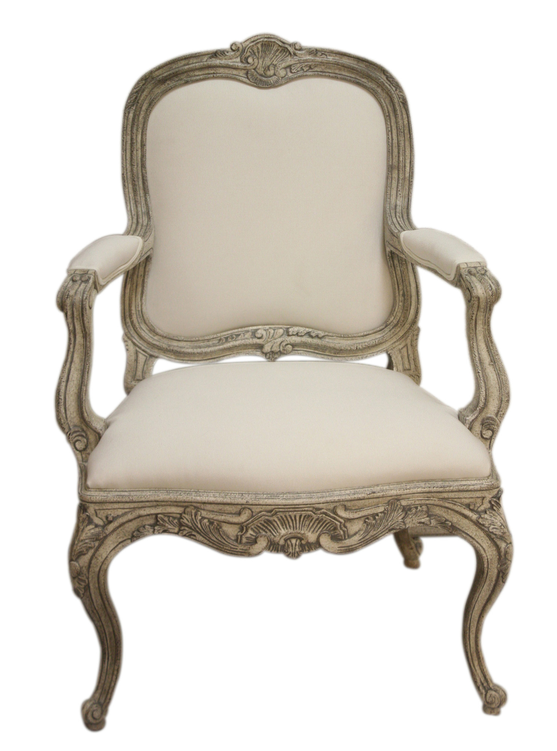 Swedish Curvy Rococo Occasional Armchair SC0021 - Traditional Armchairs &  Club Chairs - Dering Hall