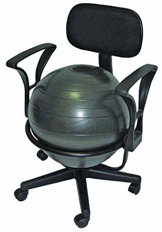 Can Do Arm Rest Ball Chair