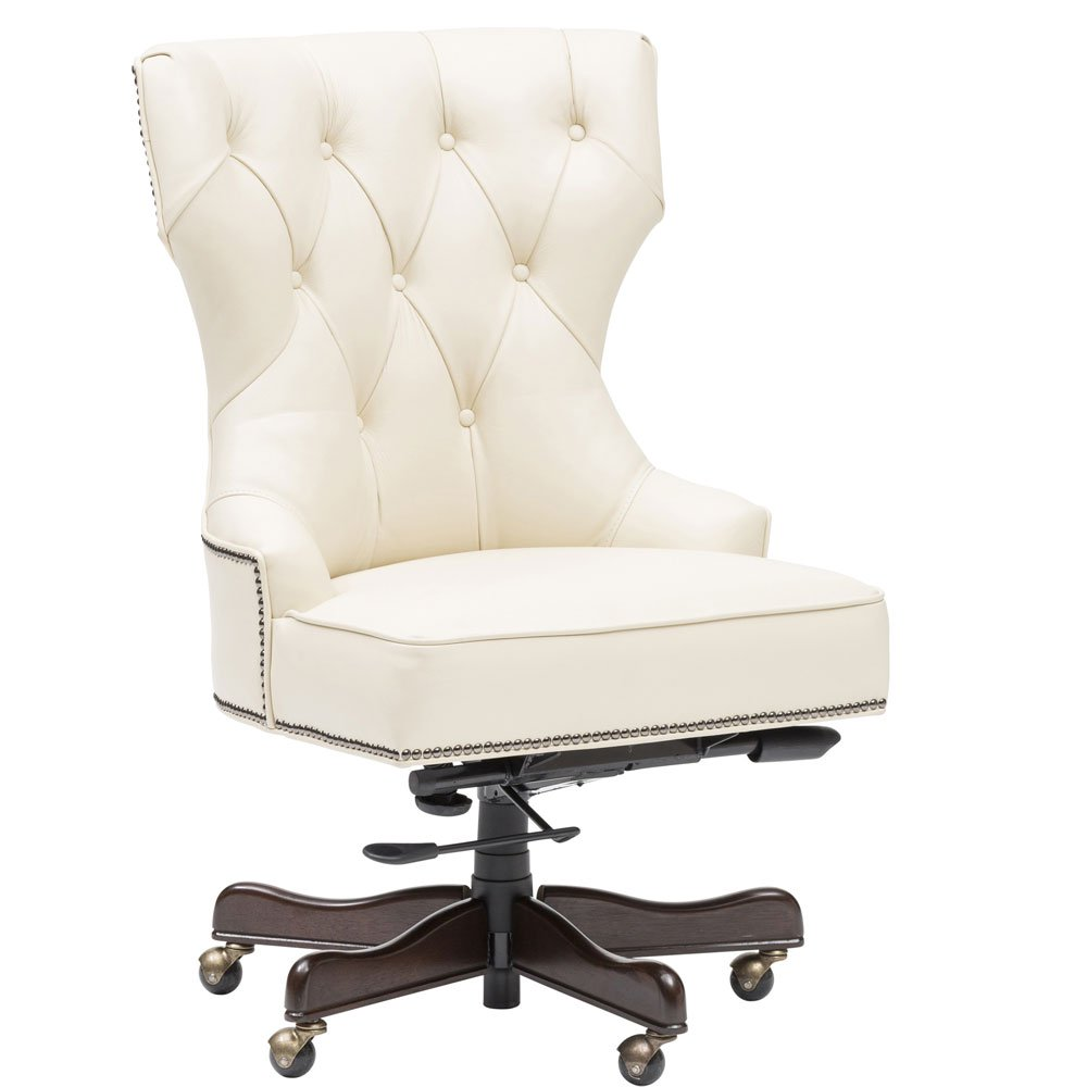 Executive Tufted Leather Chair