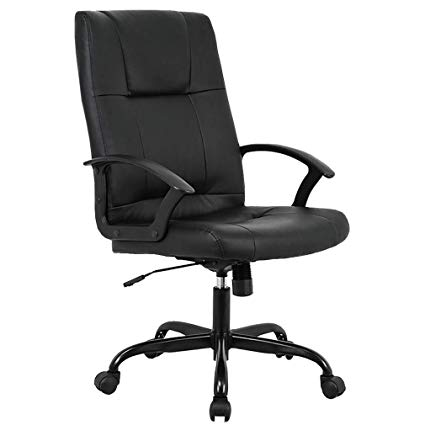 BestMassage Home Office Chair, Ergonomic Desk Task Executive Chair Rolling Swivel  Chair Adjustable Computer Chair