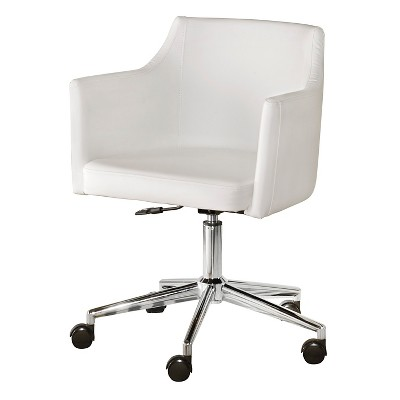 Baraga Home Office Swivel Desk Chair White - Signature Design By Ashley :  Target