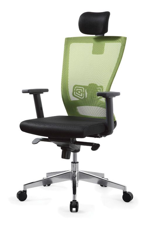 High Back Green Ergonomic Home Office Work Furniture Desk Swivel