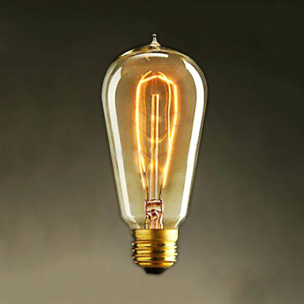 Old Fashioned Light Bulbs Old Fashioned Style Squirrel Cage Filament