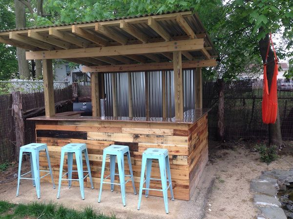 20+ Creative Patio/Outdoor Bar Ideas You Must Try at Your Backyard