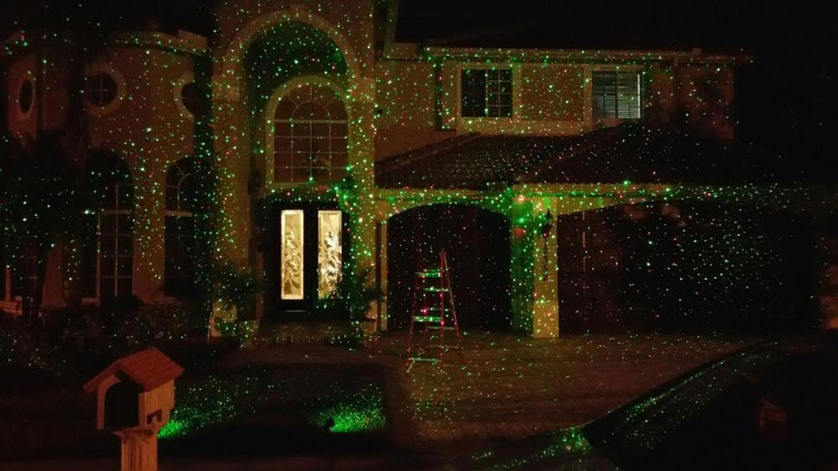 Christmas Laser Projector Red Green Firefly Light Waterproof Outdoor