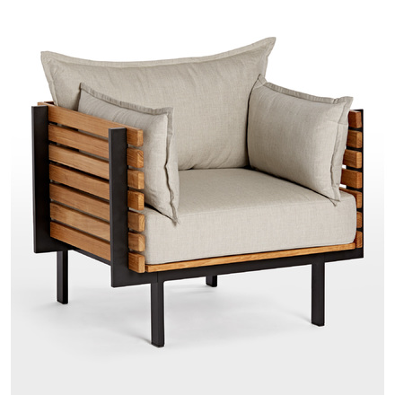 Jasper Teak Arm Chair | Rejuvenation