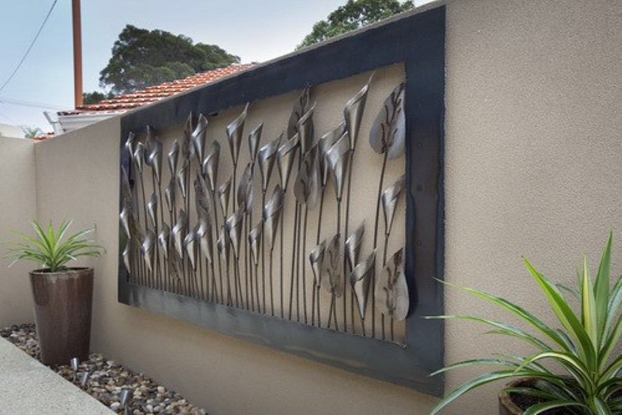 famous outdoor metal wall art outdoor iron wall art