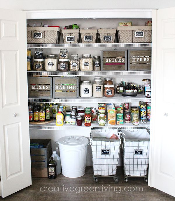 15 Clever Pantry Organization Ideas and Tricks - How to Organize a