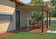 Retractable Deck Pergola Canopy |The Sassari Patio Cover. Great Backyard Awning  Ideas