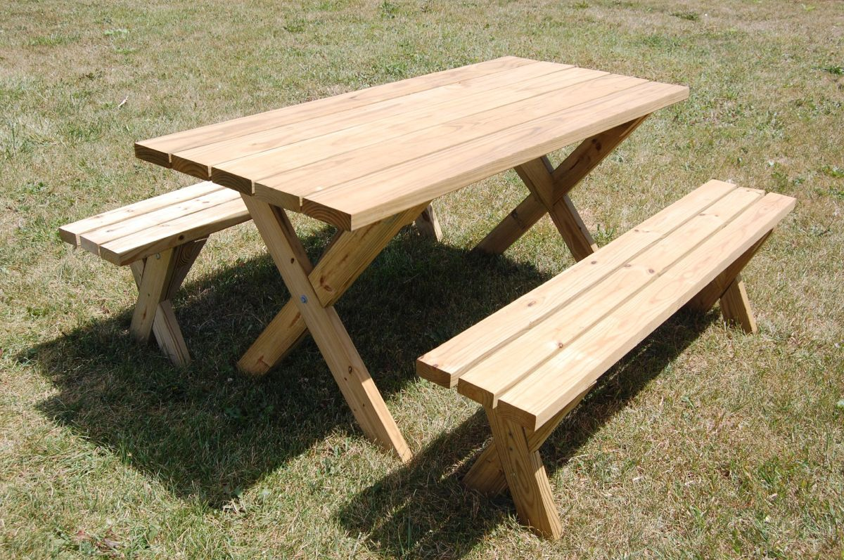 View in gallery. A picnic table