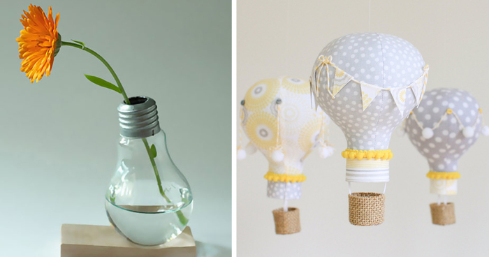 22 Awesome DIY Ideas For Recycling Old Light Bulbs | Bored Panda