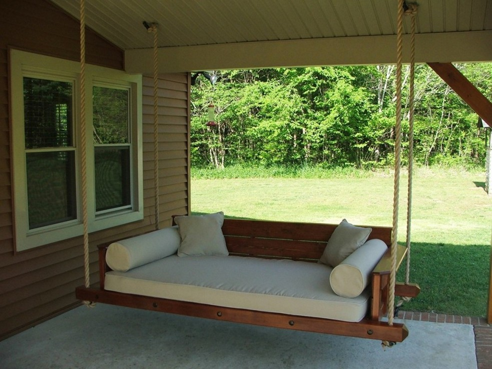 Porch Swing Bed Simple