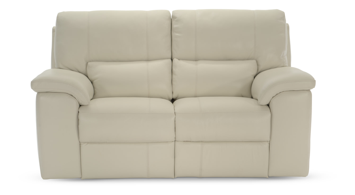 Lucerne Leather Power Reclining Loveseat - Bone