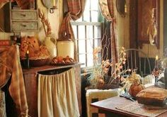 Primitive Country Decorating Ideas | Primitive decor by jeri Country  Primitive, Primitive Homes, Primitive