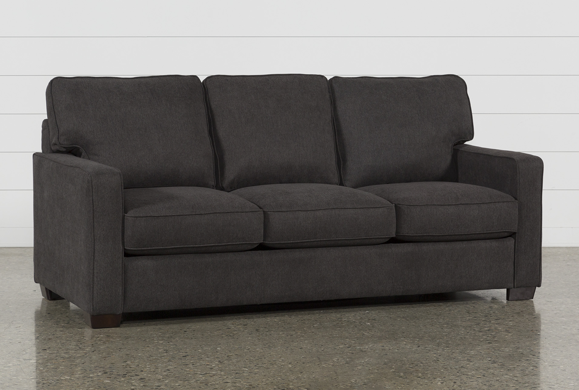 Morris Charcoal Queen Sofa Sleeper (Qty: 1) has been successfully added to  your Cart.
